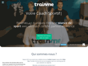 screenshot https://trainme.co/programme-rentree-remise-en-forme coach sportif