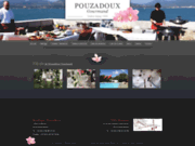 screenshot http://www.traiteur-pouzadoux.com/ traiteur Pouzadoux