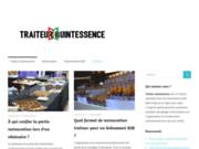 screenshot http://traiteur-quintessence.be/ Traiteur Quintessence
