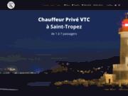 Chauffeur VTC à Saint-Tropez