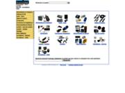 screenshot http://www.transistek.com vente produits de sécurité