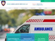 screenshot http://www.transport-ambulance.com/ transport par ambulance