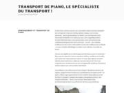 Transport de piano - Déménagement de piano
