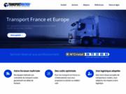 screenshot http://www.transportroutier.fr Transporteur routier