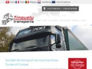 Société de transports de marchandises import export Franco Suisse