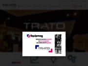 screenshot http://www.trato.fr/ trato, eclairage sur mesure