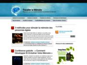 screenshot http://www.travailler-la-memoire.com/ travailler la mémoire