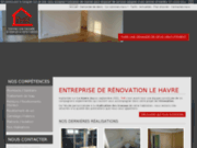 screenshot http://www.travaux-habitat-renovation.com/ rénovation au havre