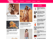 screenshot http://www.trenditude.fr/ trenditude.fr - le magazine mode et tendances