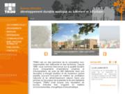 screenshot http://www.tribu-concevoirdurable.fr tribu bureau d'étude en developpement durable