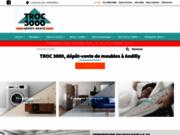 screenshot http://www.troc3000-95.com/ dépôt vente troc 3000 andilly