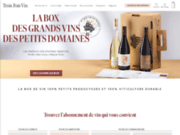 screenshot http://www.troisfoisvin.com/ Box vin