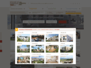 screenshot http://www.trouver-un-logement-neuf.com immobilier neuf