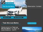 Taxi à Aix-les-Bains