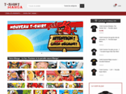 Tshirt-manga.com : Acheter des t-shirts manga pas cher. Tshirt One Piece, Bleach, Death Note