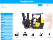 screenshot http://www.tsm-forklifts.com/ transpalettes services
