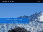 screenshot http://www.tswysen.cl tswysen - voyages organisés au chili