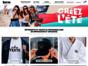 Vêtements et objets personnalisables en ligne