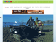 screenshot http://www.tunisiacaccia.com site proposant la chasse du sanglier sauvage en tu