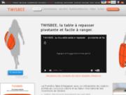 screenshot http://www.twisbee.com Table à repasser performante Twisbee