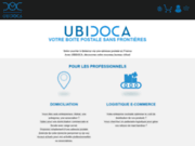 screenshot http://www.ubidoca.com/ boite postale particuliers et domiciliation