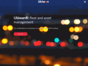 screenshot http://www.ubiwan.net solutions logicielles