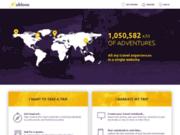 screenshot https://ublooo.com Créez votre 1er carnet de voyage