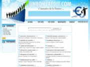 screenshot http://www.unboncredit.com/ credit