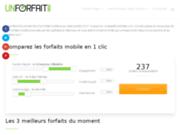 screenshot http://www.unforfait.com unforfait.com