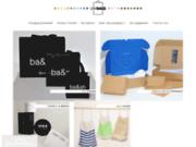 screenshot http://www.unibags.eu unibags, sac papier