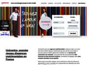 screenshot http://www.unicentre.eu agence matrimoniale unicentre