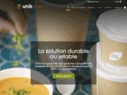 screenshot http://unikeco.com unikeco - la solution durable au jetable