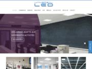 screenshot http://www.universal-led.com Eclairage LED professionnel