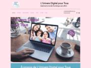 screenshot https://www.universdigitalpourtous.com Assistance informatique à domicile