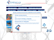 screenshot http://www.urbica.net numérisation cadastre