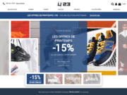 screenshot http://www.usine23.com usine23.com chaussures sport et mode
