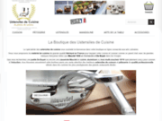 screenshot https://ustensiles-cuisine.boutique/13-casseroles Casserole Mauviel Induction