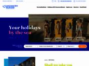 screenshot http://www.vacancesbleues.fr le village de vacances, la solution pour des vacances en famille.