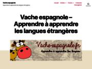screenshot http://vache-espagnole.fr Apprendre à apprendre les langues