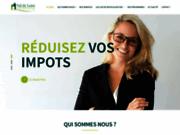 screenshot http://www.valdeloirepatrimoine.com/ investissement immobilier et défiscalisation à Tours 37