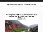 Excursion la vallee d'ourika, visite les cascades d'ourika