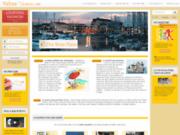 screenshot http://www.valrasvacances.com vos vacances à valras plage