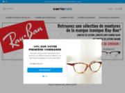 screenshot http://www.varionet.fr Lunettes de lecture