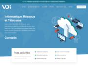 screenshot https://www.vdi.sarl VDI SARL Informatique, téléphonie et communication sur Saint-Maximin