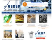screenshot http://www.veber-caoutchouc.com veber caoutchouc, spécialiste fournitures industriels