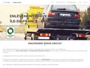 screenshot https://www.vehiculehorsdusage.fr épavite