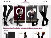 screenshot http://www.veinefit.com/ Boutique en ligne Veinéfit : vente articles de contention femme et homme