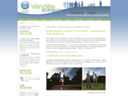 screenshot http://www.vendee-business.fr vendée business