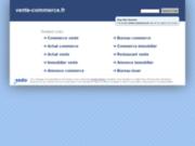 screenshot http://www.vente-commerce.fr vente commerce