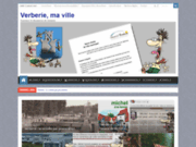 screenshot http://www.verberie-ma-ville.com Blog d'informations indépendantes sur la ville de Verberie.